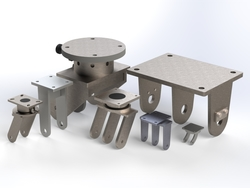 Afbeelding Components for wheels and castors